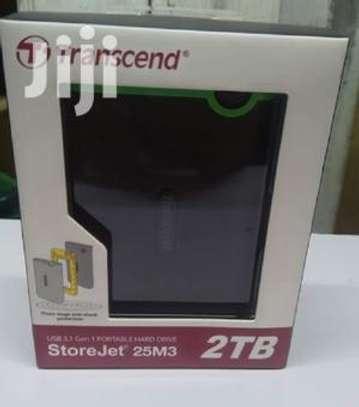 Transcend 2TB USB 3.1 Portable External Harddisk Drive image 1