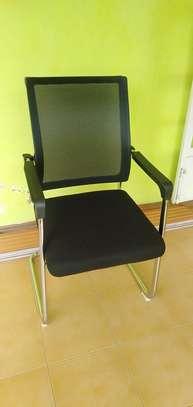 Mesh Waiting Seat-Black image 1