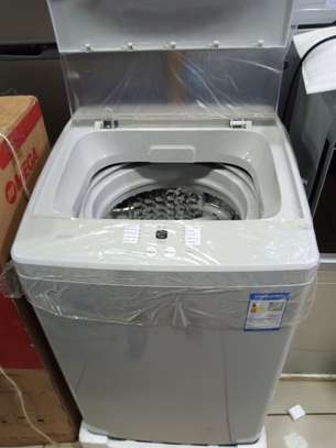 Redmi washing machine 8kg fully automatic wash and dry color Gray image 1