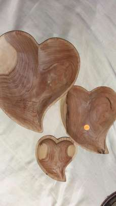 A WHOLE PACKAGE OF WOODEN ITEMS