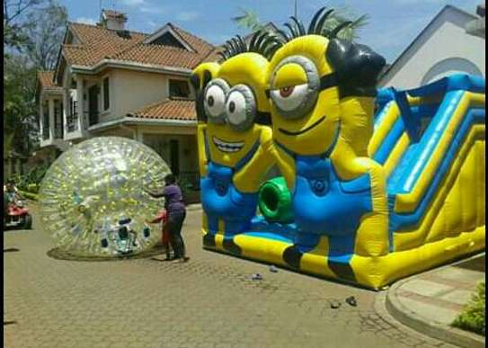Bouncy castles for hire