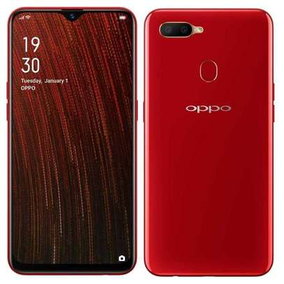 """New Oppo A5s , 6.2"""", 32 GB + 3 GB, (Dual SIM) - Red image 1"""