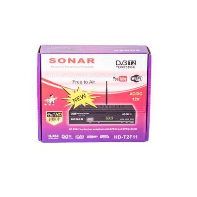 Sonar Free to Air decoder