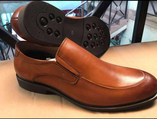 Men's Official Italian Leather Shoes with rubber sole image 2