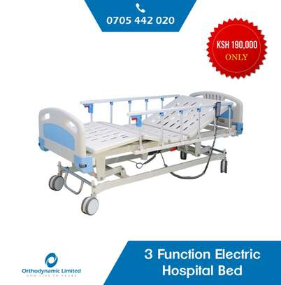 Hospital Manual Double crank Bed - Two function bed image 4