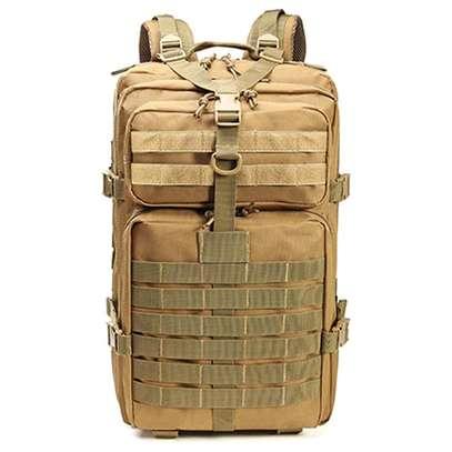 Brown tactical military combat desert bag image 1