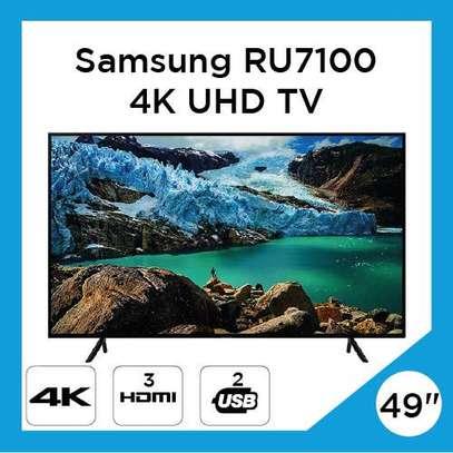 Samsung UA49RU7100 49 Inch 4K UHD Smart LED Television image 1