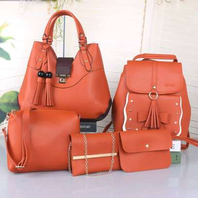 5 in 1 Ladies Handbag,