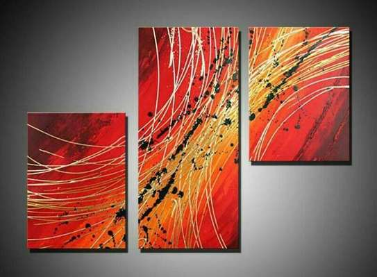 Tagged Art on Canvas image 1