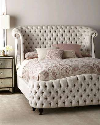 Gorgeous Beautiful Modern Quality 5by6 Upholstered Bed