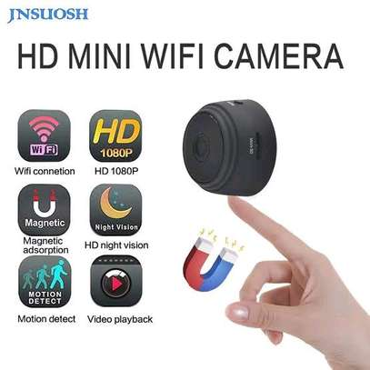 Mini Hidden Spy Camera WiFi Small Wireless Video Camera Full HD 1080P Audio Infrared Night Vision Motion Sensor Support SD Card for iPhone Android Video Detection Security Nanny Surveillance Cam image 1