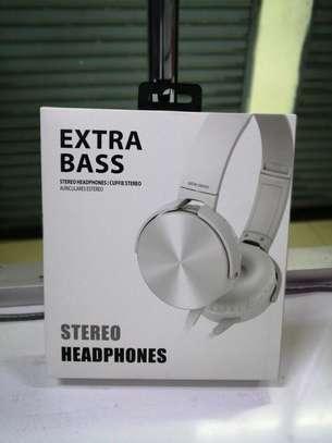 Sony White headphones image 1