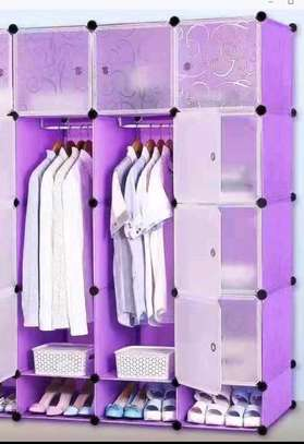 Plastic portable wardrobe