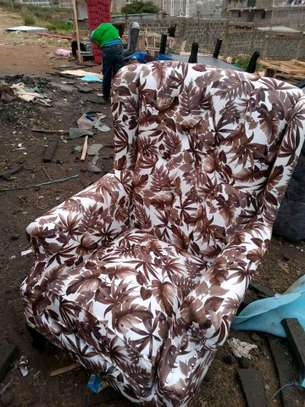 Wingback arm chair image 1