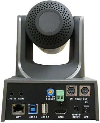 PTZOptics 20x-USB Gen2 Full HD Broadcast and Conference Indoor PTZ Camera (Gray) image 2