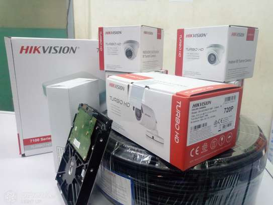 8 HD CCTV Camera Package (with Night Vision + 1TB Storage + 150m Cable) image 3