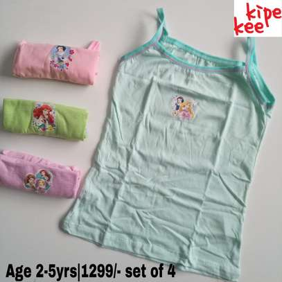 Girls Cartoon Themed Vests image 2