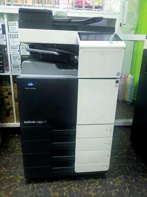 New model Konica minolta bizhub C364E colored photocopier machine image 1