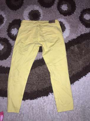 Ladies Yellow Jeans