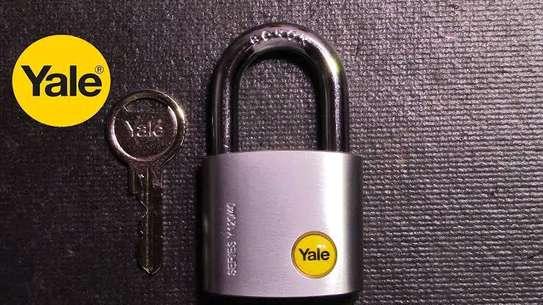 Original Yale Padlock Size 50mm image 1