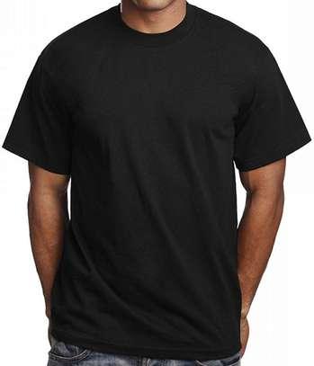 plain round neck  t shirts image 3