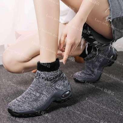 Ladies socks boot sneakers image 3