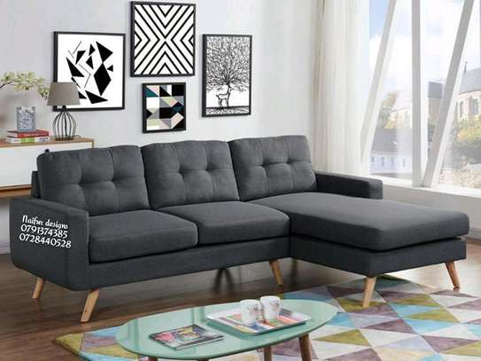 Modern L shaped sofa image 2