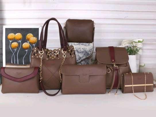 ladkes handbags 6 in 1 image 1