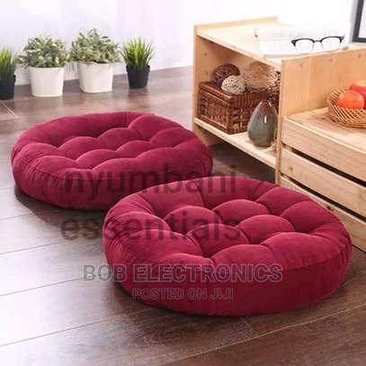 Round Floor Pouf Pillows image 3