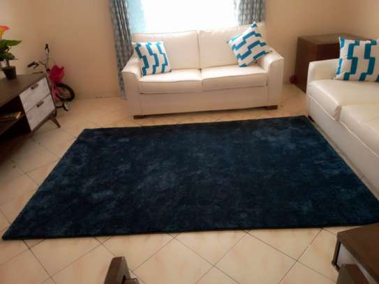 Navy Blue Soft Carpet 5*8 image 3