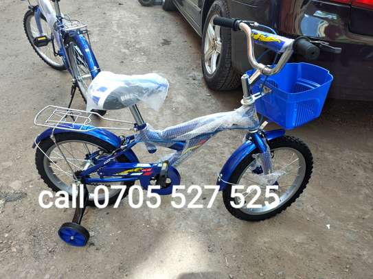 16inch blue bmx speedking kids bike