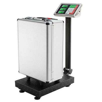 Parcel Platform Scales UK Plug 100KG/220lbs image 2