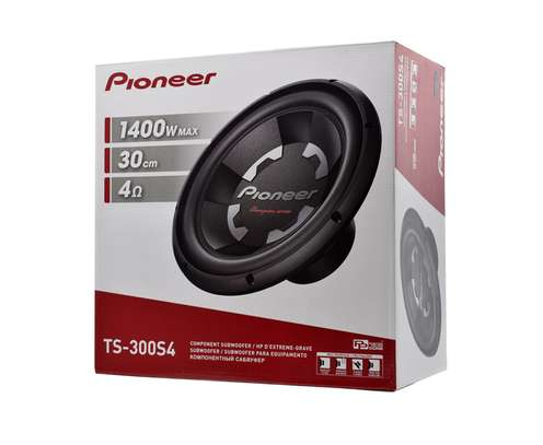Pioneer Ts-300s4 12 Inch Champion Series Subwoofer 1400w 4 Ohm Single Voice Coil image 1