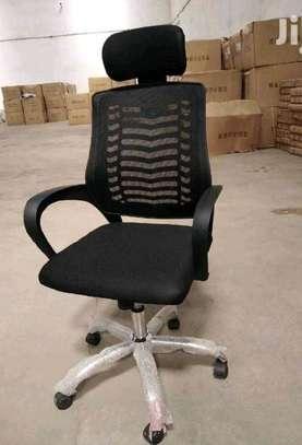 Headrest workstation office chair image 1