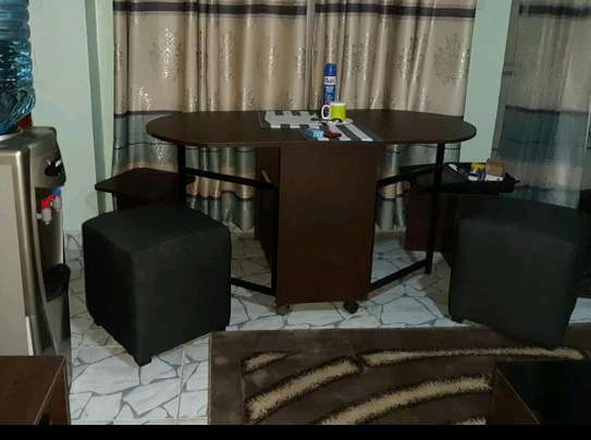 Foldable dining table image 2
