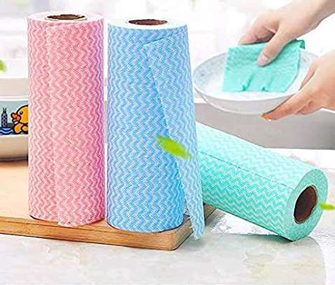 Re~usable paper towel roll mat image 2