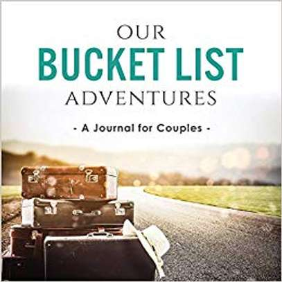 Our Bucket List Adventures: A Journal for Couples Paperback – July 19, 2018 by Ashley Kusi  (Author), Marcus Kusi  (Author) image 1