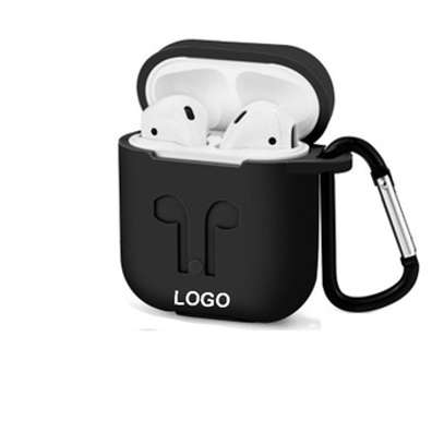 Soft Silicone Case For Apple Airpods Shockproof Cover For Apple AirPods Earphone Cases image 2