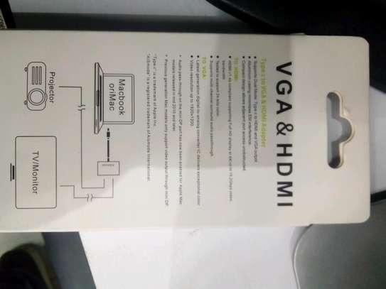 USB-C to VGA& HDMI adapter image 2