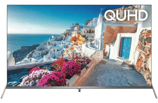 Smart Android TV 55 Inches Tcl QLED c715 image 1