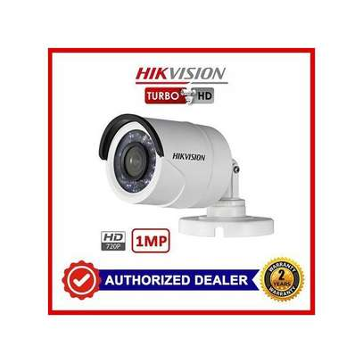 Hikvision 720P Turbo HD Night Vision Outdoor Bullet CCTV Camera image 1