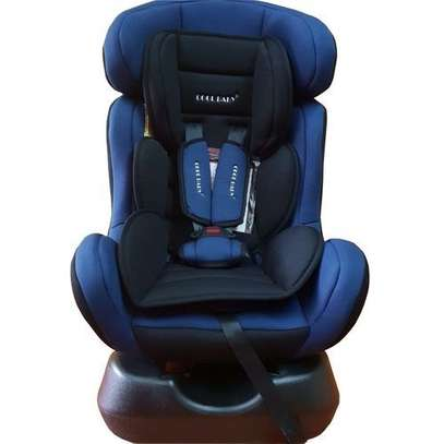 Superior Reclining Infant Car Seat & Booster with a Base- blue/Black (0-7Yrs) image 1