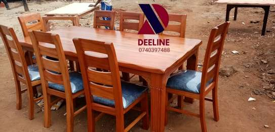 8 Seater Mahogany Dining Table Sets. image 5