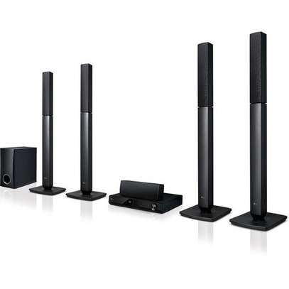 LG LHD457 5.1-Ch 300W RMS Bluetooth DVD Home Theater System image 1