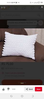 Patterned throw pillows image 5