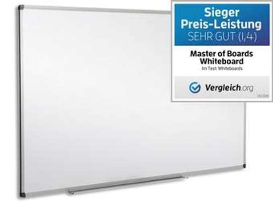 Wall Mounted Whiteboard 6*4 image 1
