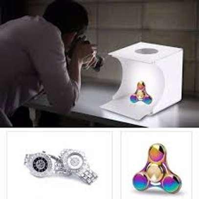 Photo Studio Light Box 24″/60cm Adjustable Brightness Portable Folding... image 1