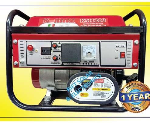 K-max Italy Petrol Generator 1.5kva | KM1200 image 1
