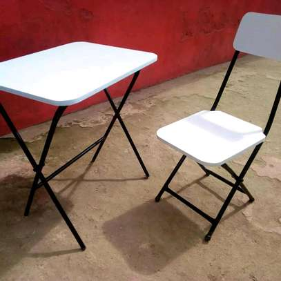 Foldable Study Tables and chairs image 3