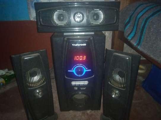Tagwood mulltimedia speaker system image 1